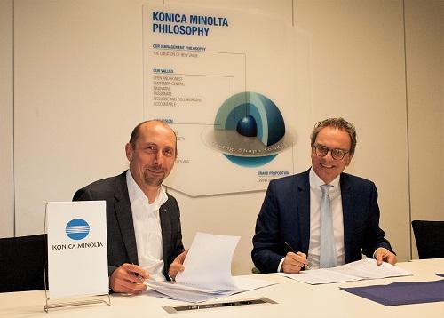 BCT und Konica Minolta sind nun Partner